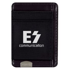 RFID Blocking Money Clip and Card Holder