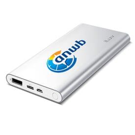 iLuv® Dual USB/USB Type-C Power Bank - 10000 mAh