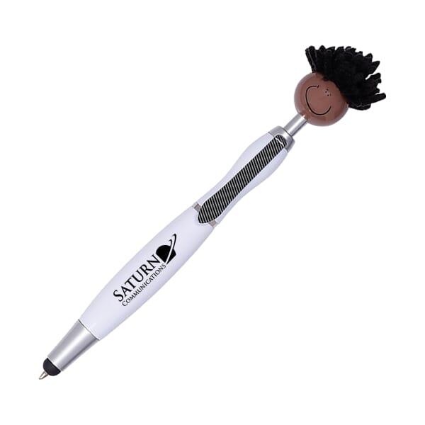 MopTopper™ Stylus Pen - Dark Skin Tone