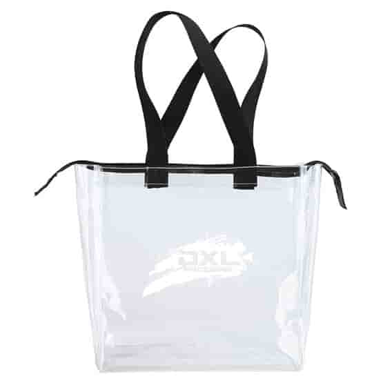 Game Day Clear Zippered Tote