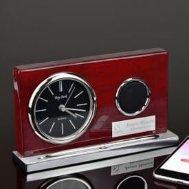 Wireless Speaker Clock with Pen