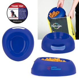 Scoop and Feed Pet Bowl Combo
