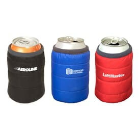 Puffer Jacket Can Cooler