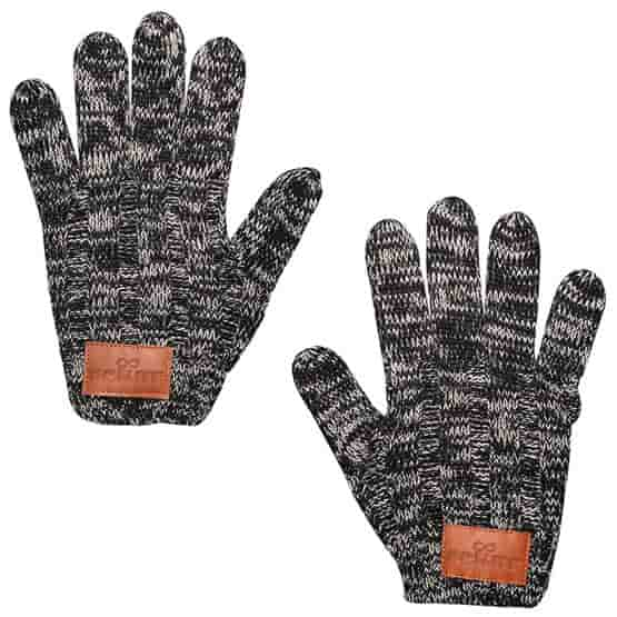 LEEMAN™ Heathered Knit Gloves
