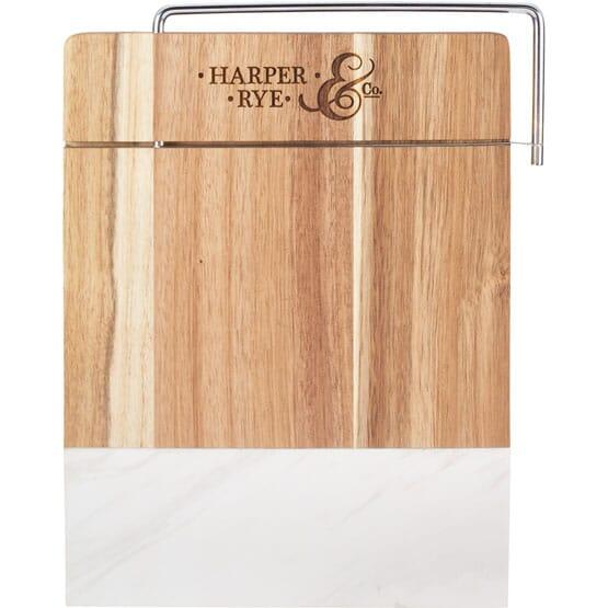 Acacia Wood & Marble Cutting Board