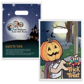 Full Color Design Plastic Halloween Treat Bag