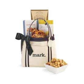 Gourmet Snacks Mini Gift Tote