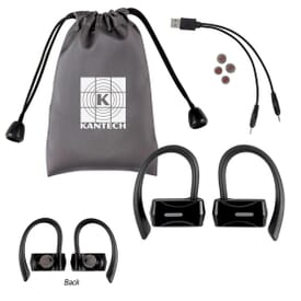 Bluetooth® Sport Wireless Earbuds with Pouch