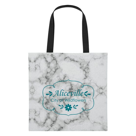 Marble Patterned Tote