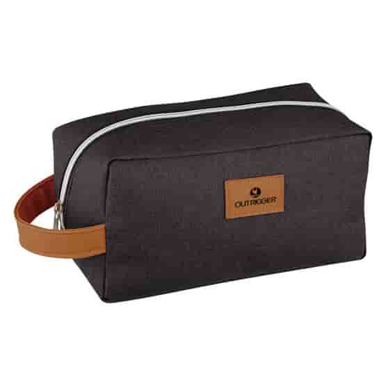 Heathered Woven Toiletry Bag