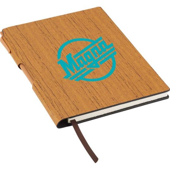"6"" x 8.5"" Rustic Woodgrain Journal"