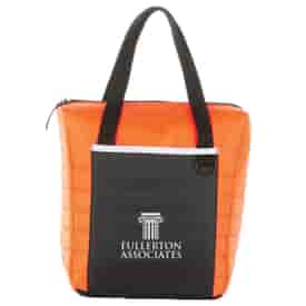 Quilted Lunch Cooler Tote