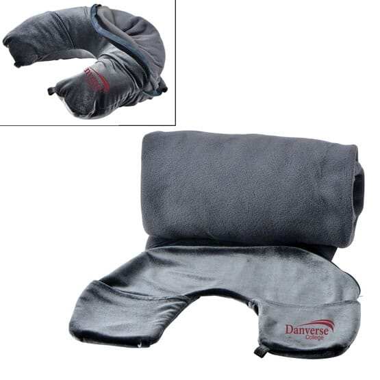 2-in-1 Travel Pillow & Blanket