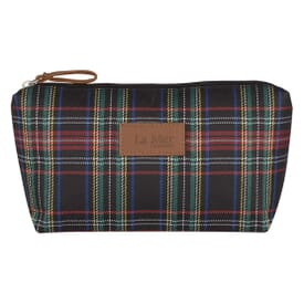 Plaid Cosmetic Bag