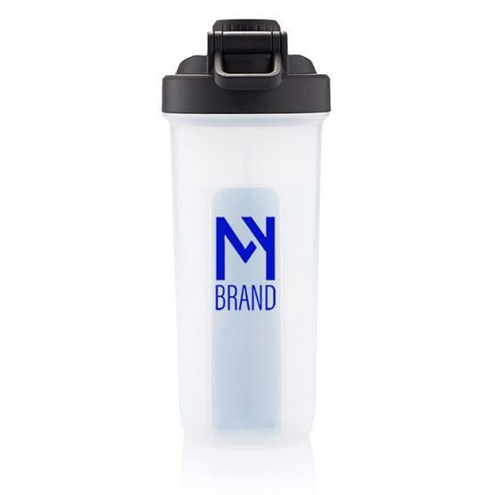 20 oz Shaker Bottle with Wireless Earbuds