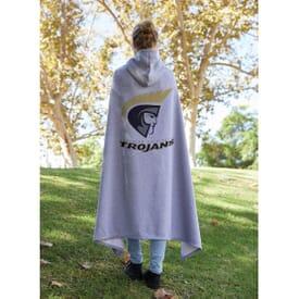 Hooded Sweatshirt Blanket