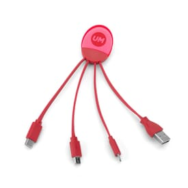 4-in-1 Light Up Charging Cable