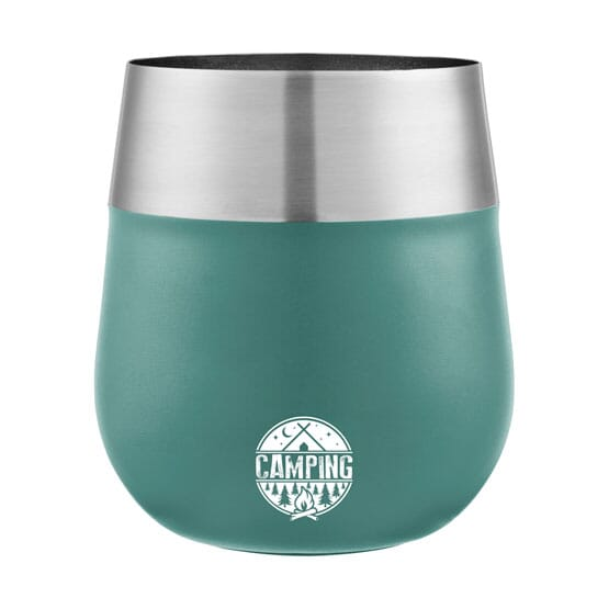 13 oz Coleman® Claret Stainless Steel Wine Glass