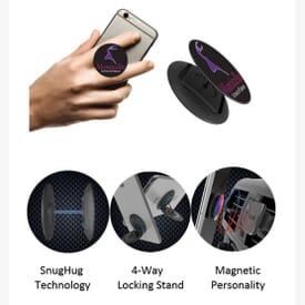 Nuckees™ Phone Grip and Stand with Snug Hug Tech