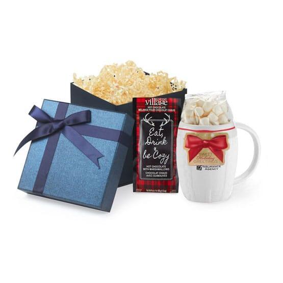 Ceramic Sweater Mug & Cocoa Gift Set