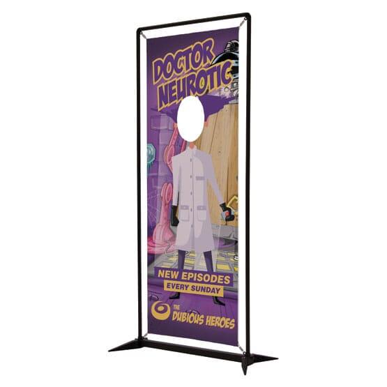 Single Face Cutout Banner Kit