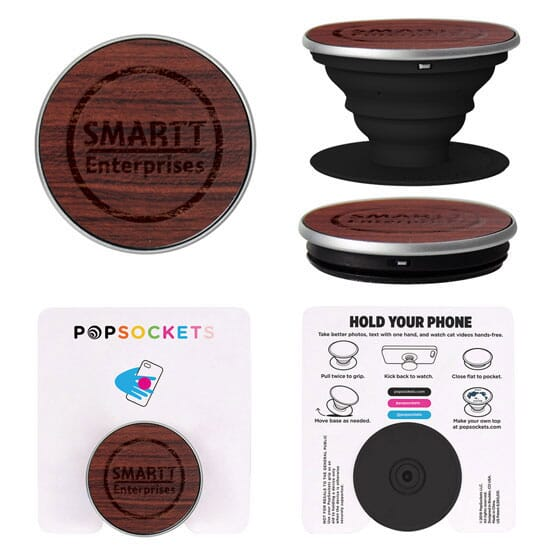 Rosewood Popsockets(R) 121982
