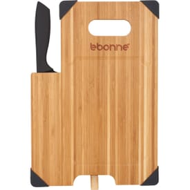Natural Bamboo Cutting Board Set