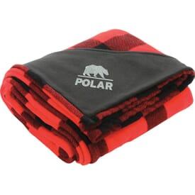 Buffalo Plaid Fleece Throw Blanket