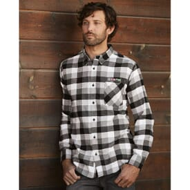 Men's Vintage Flannel Button Down Shirt