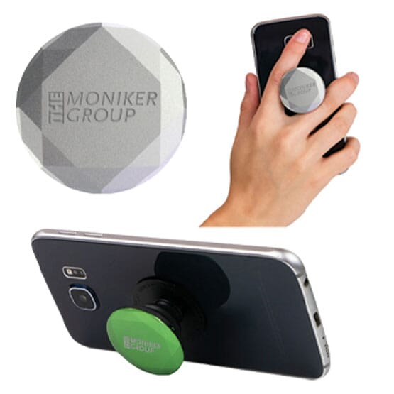 PopSockets phone grips with logo