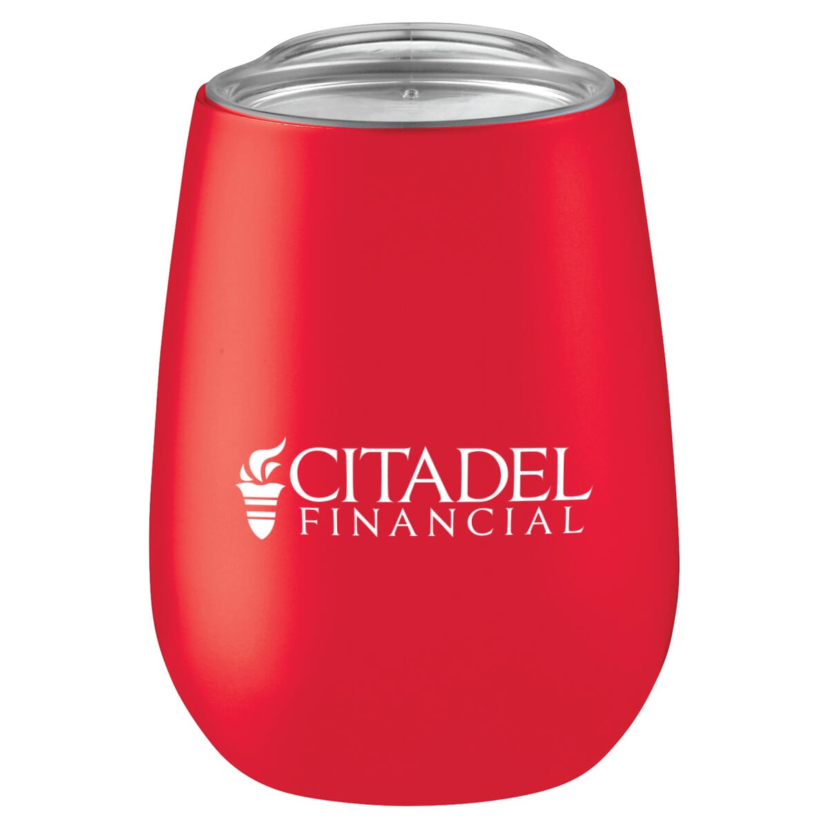 Red Bevie Insulated Tumbler