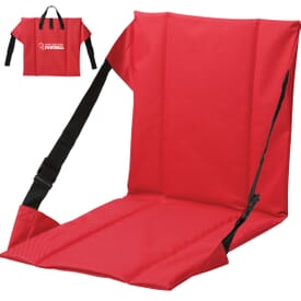 Portable Stadium Seat with Back