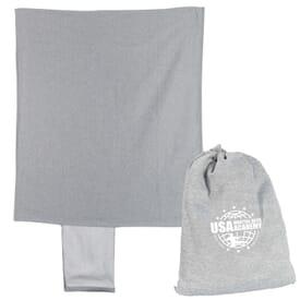 Jersey Fleece Sling Blanket