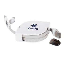 6 Foot Retractable USB Cable