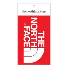 "3 3/4"" x 2"" Rectangle - Clothing Hang Tag Sticker"