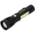 Channel LED/COB Rechargeable Flashlight