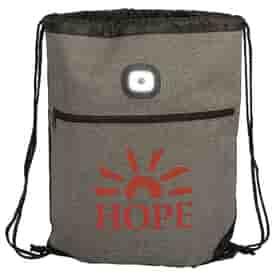 Strand™ LED Light Drawstring Backpack