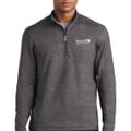 Men's Sport-Tek® Sport-Wick® Stretch Reflective Heather 1/2 Zip