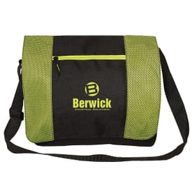 Bright Panels Messenger Bag
