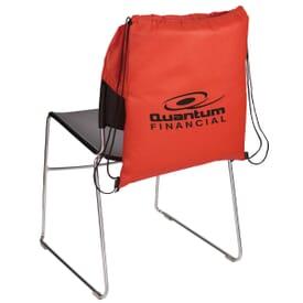 Over-the-Chair Non-Woven Drawstring Bag