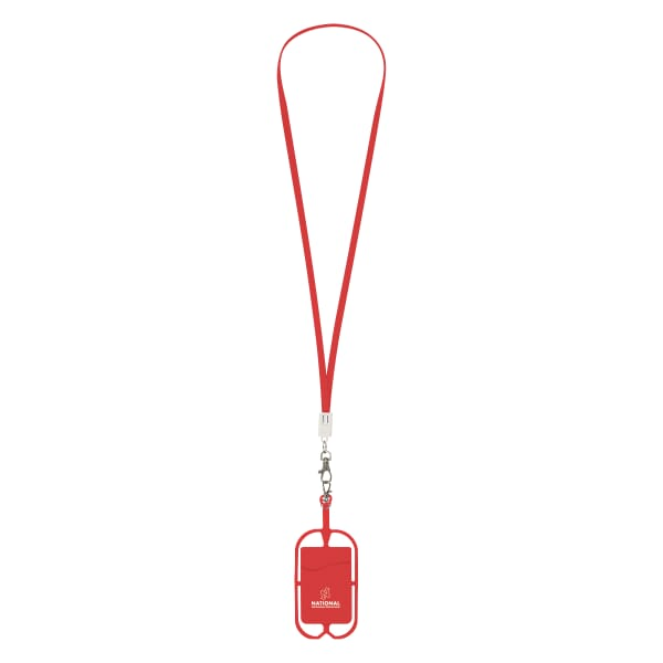 Charging Cable Lanyard With Phone Holder 122188
