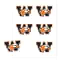 6-Pack Face Decals