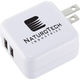 Dual Output AC Adapter Plug