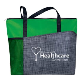 Non-Woven Heathered Tote