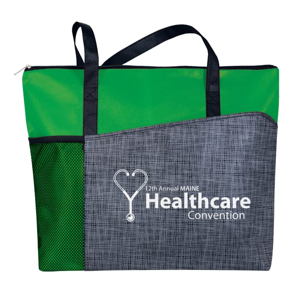 Non-Woven Heathered Tote 122216