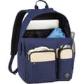 Open Backpack in use