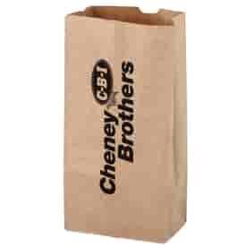 Natural Kraft 4# SOS Grocery Bag