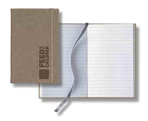 Castelli® Linen Banded Pocket Journal