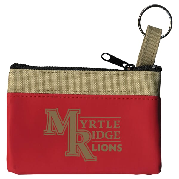 Safari Classic Zip Pouch With Key Ring 122241