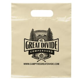 "9 1/2"" x 12"" Die Cut Handle Bag"